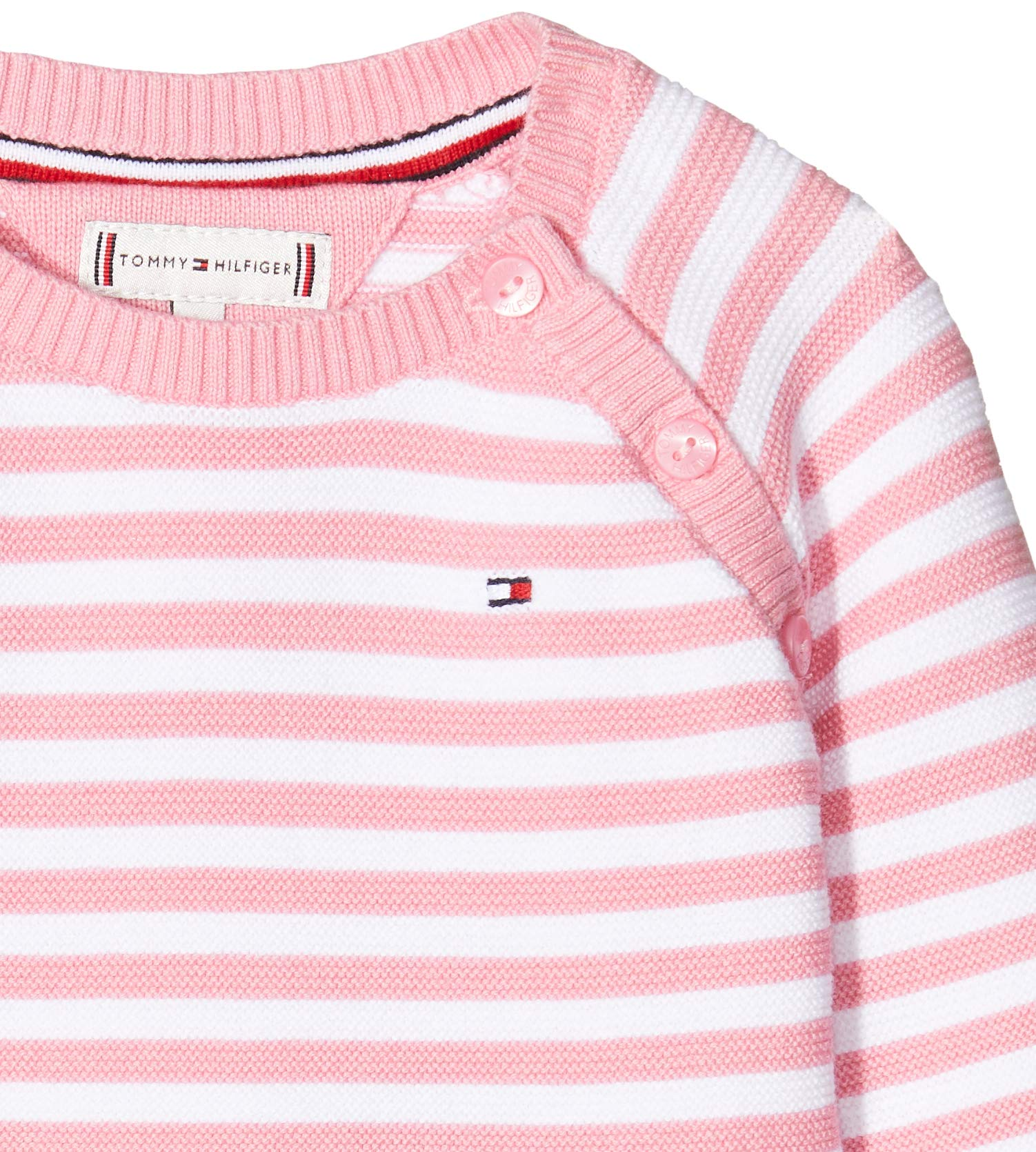 Tommy Hilfiger Baby Stripe Knitted Giftbox Sombrero para Bebés 2