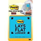 Post-it F220-8SSFM Super Sticky 50.8mm x 50.8mm Full Adhesive Notes Pad Assorted Colours Pack of 8, 25 Notes Per Pad 3M