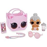 L.O.L. Surprise! Poupées à collectionner - Avec sac à main et Maquillage Surprises- Lil Kitty Queen - Ooh La La Baby…