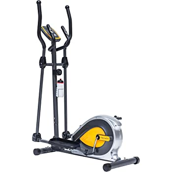 TechFit E400 Cross Trainer, Bicicleta elíptica para el hogar, Máquina de Cardio para Ejercicios de Fitness, Dispositivo de Resistencia magnética Apta para Espacios Interiores