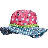Playshoes UV-Schutz Sonnenhut Blumen Sombrero para Niñas