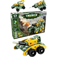 SARTHAM Educational Toys, Building and Construction Set, Battlefield (Age 8 to 12)