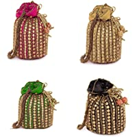 Ags Traders Women Potli Bags