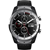 Ticwatch Pro Premium Smartwatch with Layered Display for Long Battery Life, NFC Payment and GPS Build-in, Wear OS by Google,