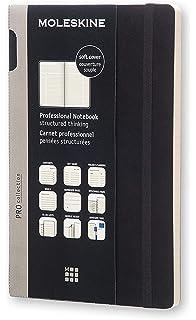 Hardcover 288 Seiten professioneller Terminkalender schwarz Moleskine Pro Projektplaner Format XL 19 x 25 cm Produktivit/ät f/ür Projekte und Projektmanagement