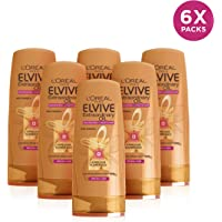 L'Oréal Elvive Extraordinary Oil Conditioner for Dry Hair 400ml Pack of 6 (Packaging May Vary)
