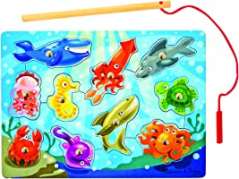 Melissa & Doug 13778 Ahşap Mıknatıslı Balık Tutma