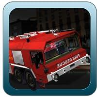 Feuerwehrleute Parkplatz 3D