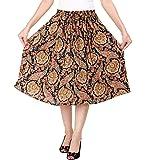 COTTON BREEZE Women Midi Skirt