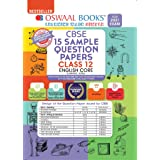 Oswaal CBSE Sample Question Paper Class 12 English Core Book (For 2021 Exam)