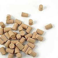 Duhalle 1016 Set de 40 Bouchons Colmatés en liège, 33 x 23 x 19 mm