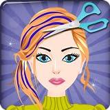 Jeu enfants filles - princesse de salon de coiffure