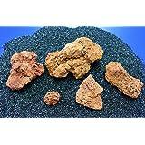 """Nano Stone """"Island-Lava"""" - Set mit 5 bis 7 Steinen, Vulkangestein"""