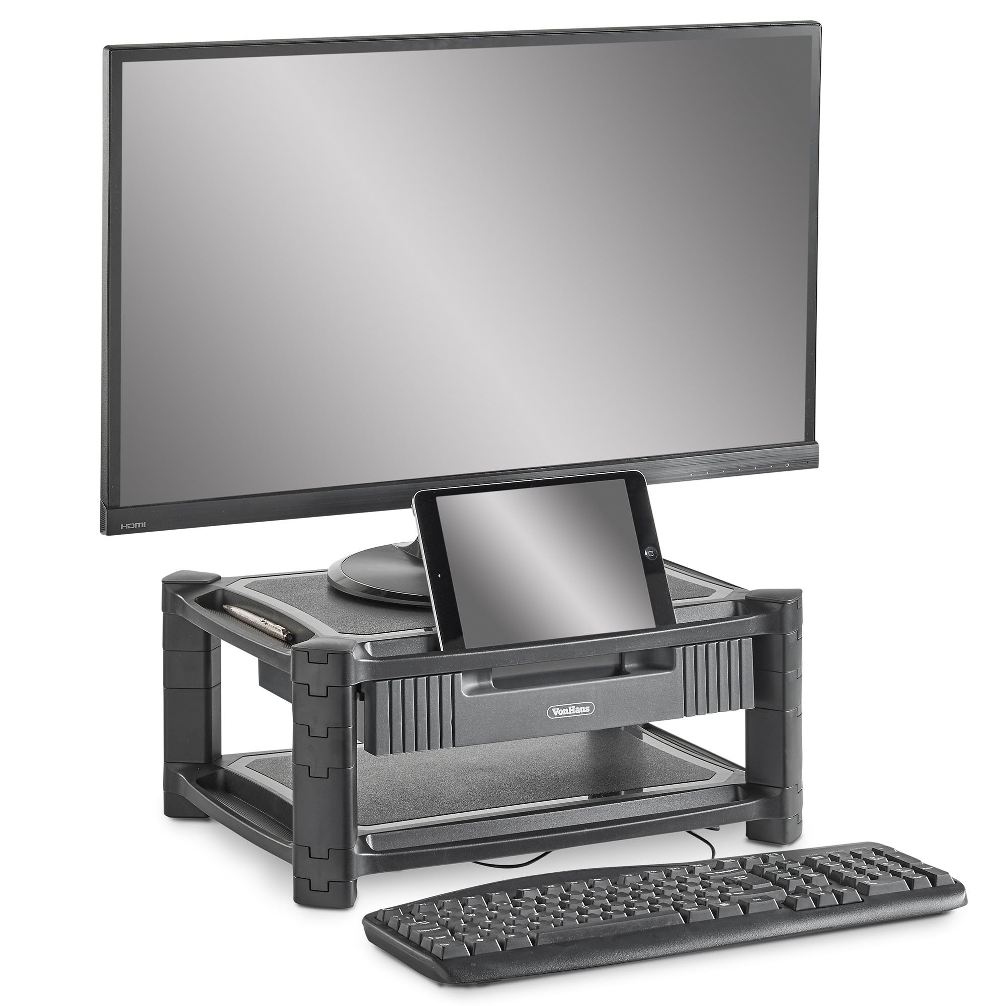 holder up this monitors can drawer stand display bracket wooden to dock intl imac computer hold and have viewing more s rise work or pc product philippines space free with gaming for widescreen universal ergonomic your monitor samdi desktop heighen