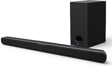 Karcher SB 800S TV Soundsystem Soundbar Bluetooth-Lautsprecher (mit Subwoofer, 60 Watt, HDMI Arc, USB UVM.)