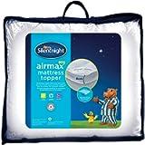 Silentnight Airmax 600 Mattress Topper, White