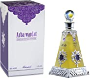 Rasasi Perfume  - Arba Wardat by Rasasi - perfume for men & - perfumes for women - Concentrated Oil, 30ml