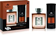 Yardley Gentleman Legacy perfumed gift set, Charismatic masculine fragrance with oriental woody notes, Eau De Parfum 100ml +