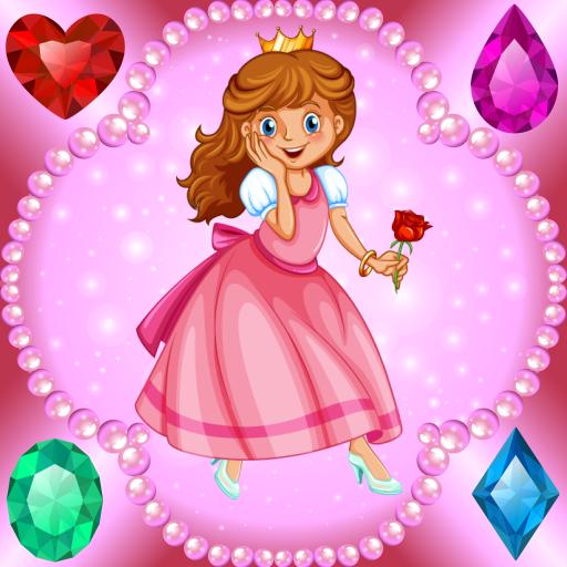 en - Spiele für Mädchen : Prinzessinnen, Schlösser und Juwelen ! (Kleines Mädchen-kleidung Zu Speichern)