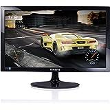 'Samsung s24d330Monitor 24Full HD, 1920x 1080, 1ms, 60Hz, Game Mode, D-Sub, HDMI-Kabel enthalten, Schwarz