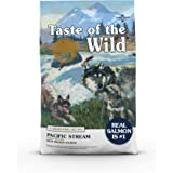 Taste of the Wild Grain Free High Protein Real Meat Recipe Pacific Stream Puppy Premium Dry Dog Food 12.7kg
