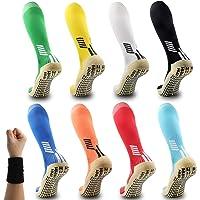 Dee Plus Anti Slip Sports Socks Football Socks Non Slip Long Compression Sock Rubber Pads Basketball Socks Womens & Mens…