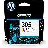 HP 305 Colour Original Printer Cartridge for HP DeskJet, HP DeskJet Plus, HP ENVY, HP ENVY Pro