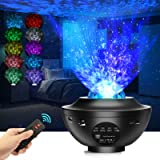 Led-sterrenhemel projector, sterrenlamp, Galaxy Light, kindernachtlampje met afstandsbediening / Bluetooth-luidspreker / time
