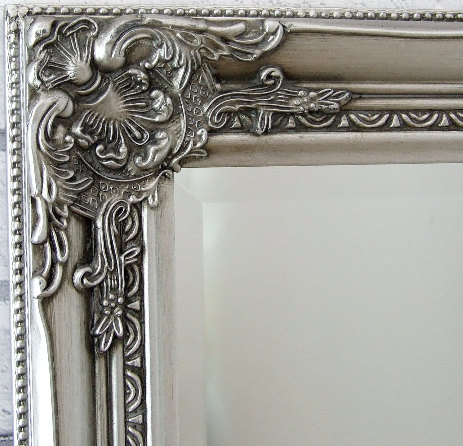Brilliant Barcelona Trading Eton Silver Extra Large Shabby Chic Full Length Leaner Floor Wall Mirror 62 X 27 Download Free Architecture Designs Scobabritishbridgeorg