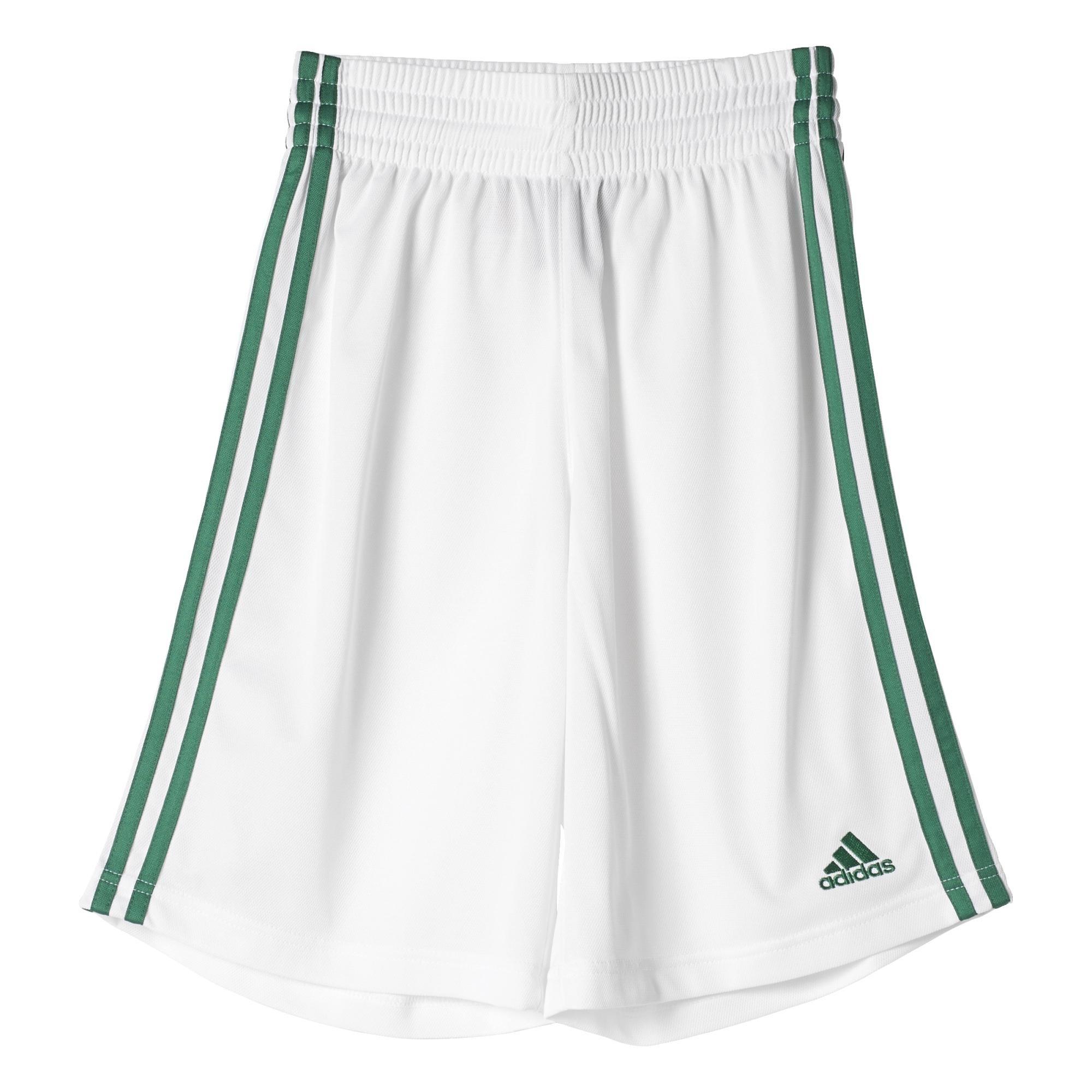 Adidas e Commander S-Pantalón per bambino, multicolore (blanco / verde), 13-14 anni