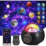 [Mise à jour 2021] Projecteur de ciel étoilé à LED, projecteur de planète, 3 en 1 Ocean Wave Sky Light Projecteur, lumière de