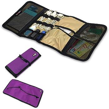 BUBM portatile-Organizer da viaggio per accessori elettronici %2F-Cavo Hard Drive %2F stabile %2F Baby Healthcare Kit, colore: nero