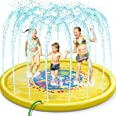 Jojoin Splash Pad, Juego de Salpicaduras y Salpicaduras, Aspersor de Juego para Actividades Familiares Aire Libre /Fiesta /Pl