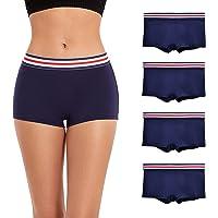 Coton Culottes Boxer Shorty pour Femmes