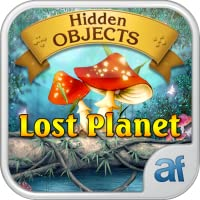 Hidden Objects Lost Planet & 3 puzzle games