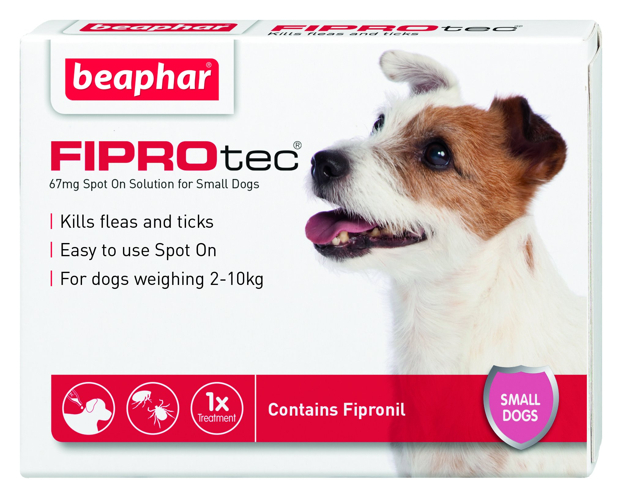 Beaphar FIPROtec Pipette for Extra Large Dog, Pack of 1 1