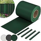 Jago pvc-strips, tuin, hek, spijlen, matten, rol, tegen wind, geluid, beschermend, privacyscherm, eenvoudig te plaatsen met c