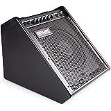 Coolmusic 100W Bluetooth amplificateur de moniteur personnel amplificateur de batterie électrique haut-parleur, clavier et ha