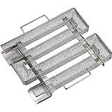 Rookphorie Spaarbrand koude rookgenerator koude rookgenerator roestvrij staal met handvat voor koud roken kogelbarbecue barbe