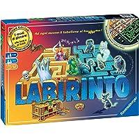 Ravensburger 26692 Labirinto Glow in The Dark, Versione Italiana, Gioco di Società, 2-4 Giocatori, Età Raccomandata 7…