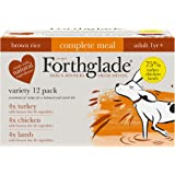 Forthglade - Comida completa 100% natural, 12 x 395 g