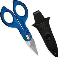 Intercable Forbice Spella e Tranciacavi da elettricista con Safetybox Edizione Limitata, Blu
