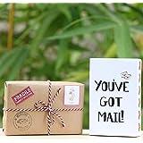 Oye Happy - You've Got Mail - Tiny Hamper for Girlfriend / Boyfriend / Husband / Wife/ Fiance to Gift on Birthday/Anniversary