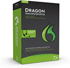 Nuance Indian English Dragon Naturally Speaking Basic 13.0 Speech Recognition Software(CD)