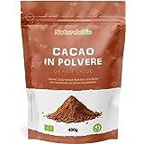 Ekologiskt Kakaopulver 400g. Organic Cacao Powder. 100% Bio, Naturligt och Rent från råa bönor. Producerat i Peru av plantan