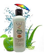 Khadi Herbal Aloe Vera Sun Expert SPF 30 PA Fairness UV Sunscreen Lotion, 200 ml