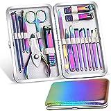Beauté Secrets Manicure Pedicure Kit for Women and Men, Nail Clippers Set Pedicure 18 Pieces Stainless Steel Manicure Kit Pro