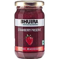 Bhuira Strawberry Preserve (No Added Sugar Jam), 240g