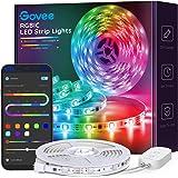 Govee Dreamcolor Led Strip Lights Muziek Sync, 16.4Ft Waterdichte Telefoon Gecontroleerde Kleur Veranderende Licht Strip voor