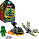 Ninjago Action Toy Spinjitzu Explosivo: Lloyd Set Spinner Ninja, color verde (Lego ES 70687)